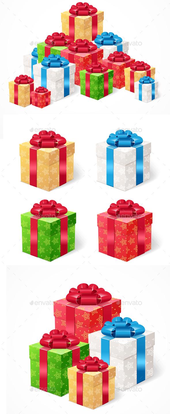 Present Box Set - Miscellaneous Vectors