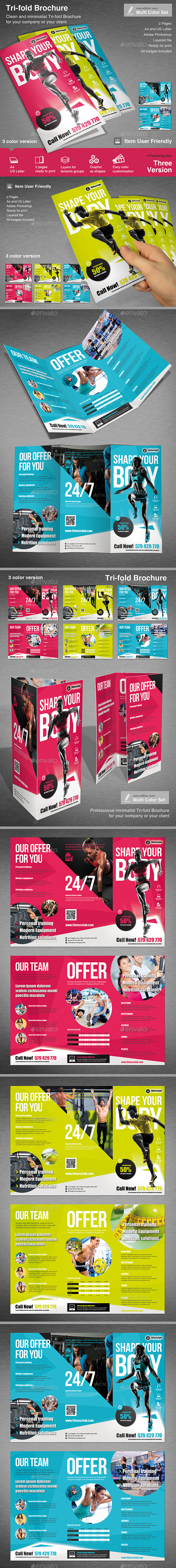 Tri-fold Fitness - Informational Brochures