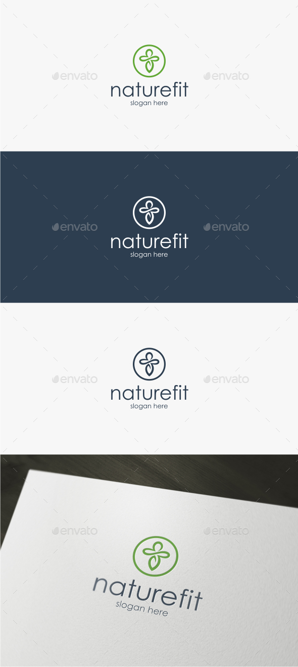 Nature Fit - Logo Template - Nature Logo Templates