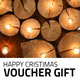 Happy Christmas Voucher Gift - GraphicRiver Item for Sale