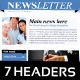 Business Newsletter A4 - GraphicRiver Item for Sale