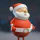 Santa Juggling Snowballs - VideoHive Item for Sale