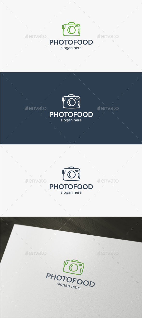 Photo Food - Logo Template - Food Logo Templates