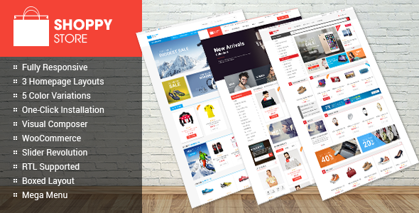 ShoppyStore – WooCommerce WordPress Theme