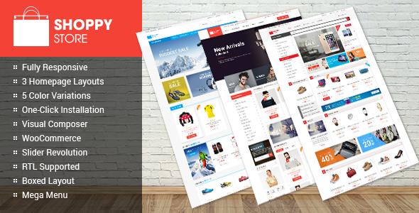 ShoppyStore - WooCommerce WordPress Theme