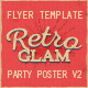 Retro Glam Party Flyer Vol.2 - GraphicRiver Item for Sale