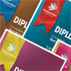 Colorful Diploma - GraphicRiver Item for Sale