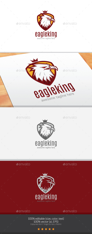 EagleKing Logo - Animals Logo Templates