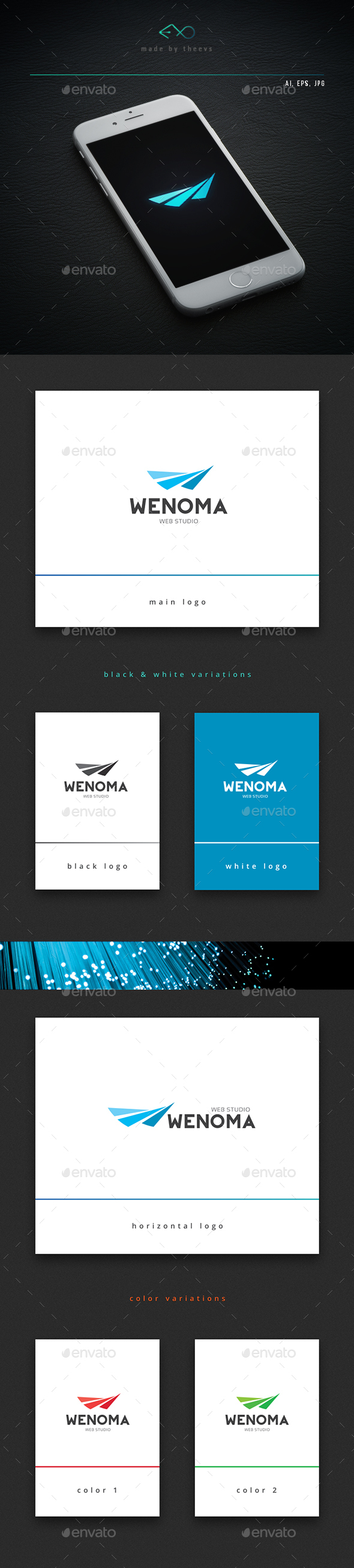 Wenoma - Letters Logo Templates