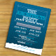 Blueprint Architects' Party Flyer - GraphicRiver Item for Sale