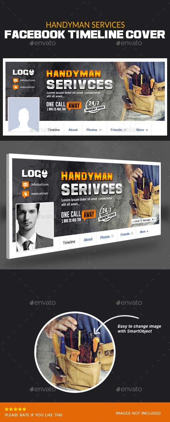 Handyman Services Facebook Timeline Cover - Facebook Timeline Covers Social Media