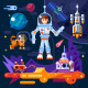 Space Theme Art Work. - GraphicRiver Item for Sale