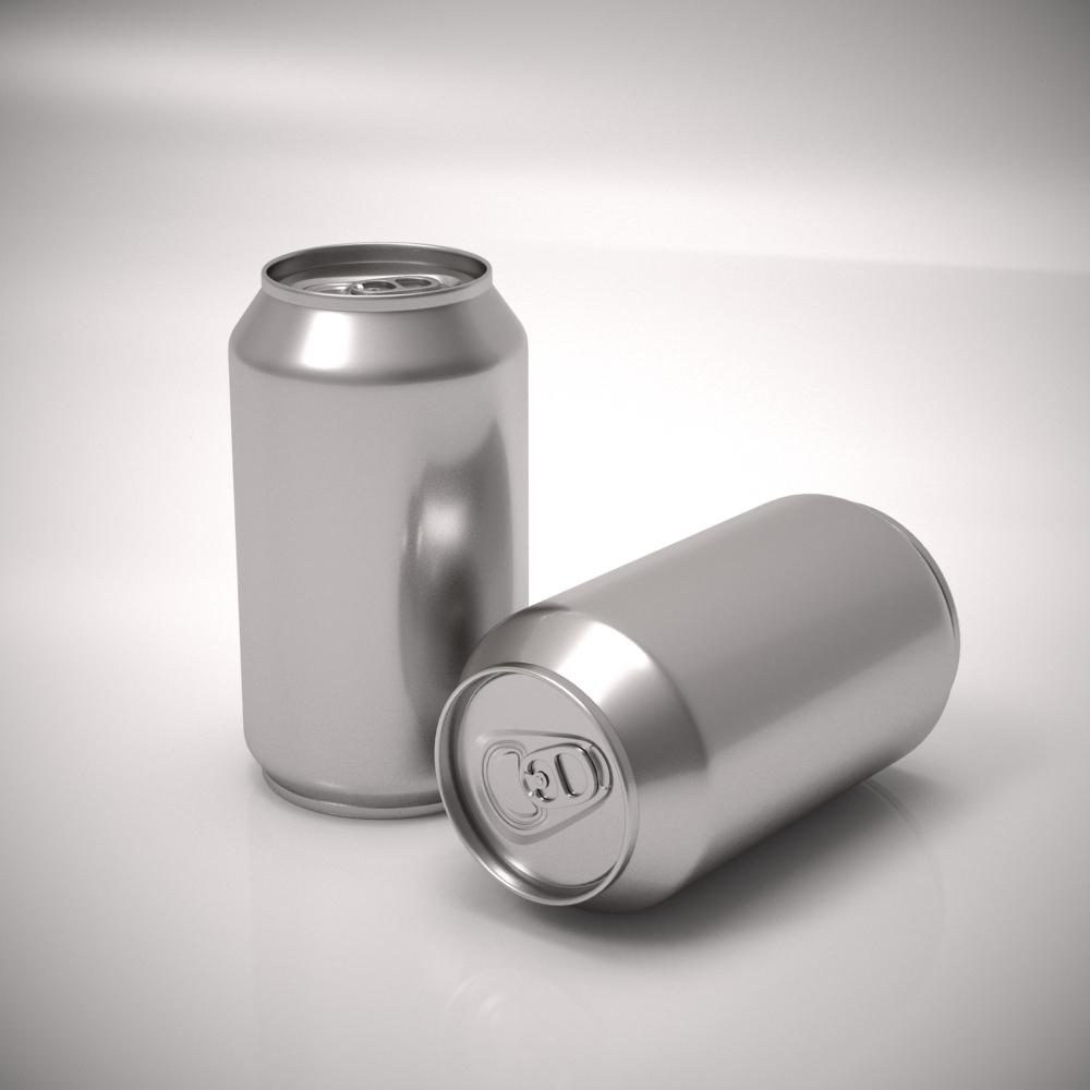 Aluminum Soda Can By Toxxast 3docean