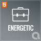 Energetic - Responsive HTML5 Template Nulled