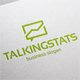 Talking Stats Logo - GraphicRiver Item for Sale