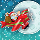 Santa Claus in Country Snowy - GraphicRiver Item for Sale