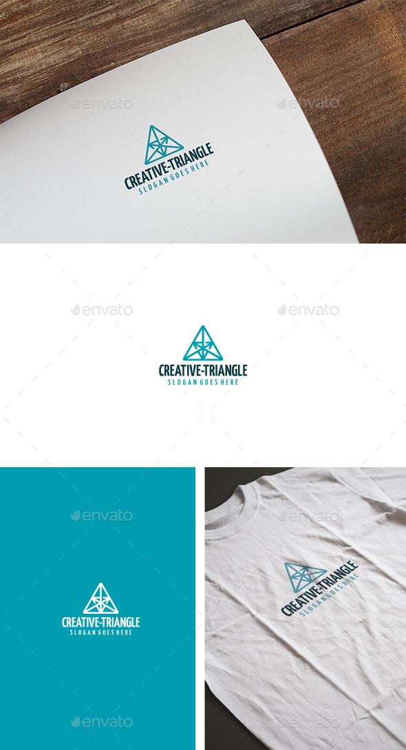 Creative Triangle Logo - Abstract Logo Templates