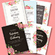 6 Floral Wedding Invitation - GraphicRiver Item for Sale