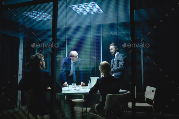 People at meeting - Stock Photo - Images