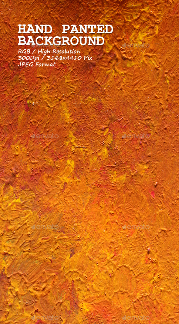 Hand Painted Background 0208 - Art Textures