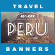 5 Instagram Banners | Travel Offer vol I - GraphicRiver Item for Sale