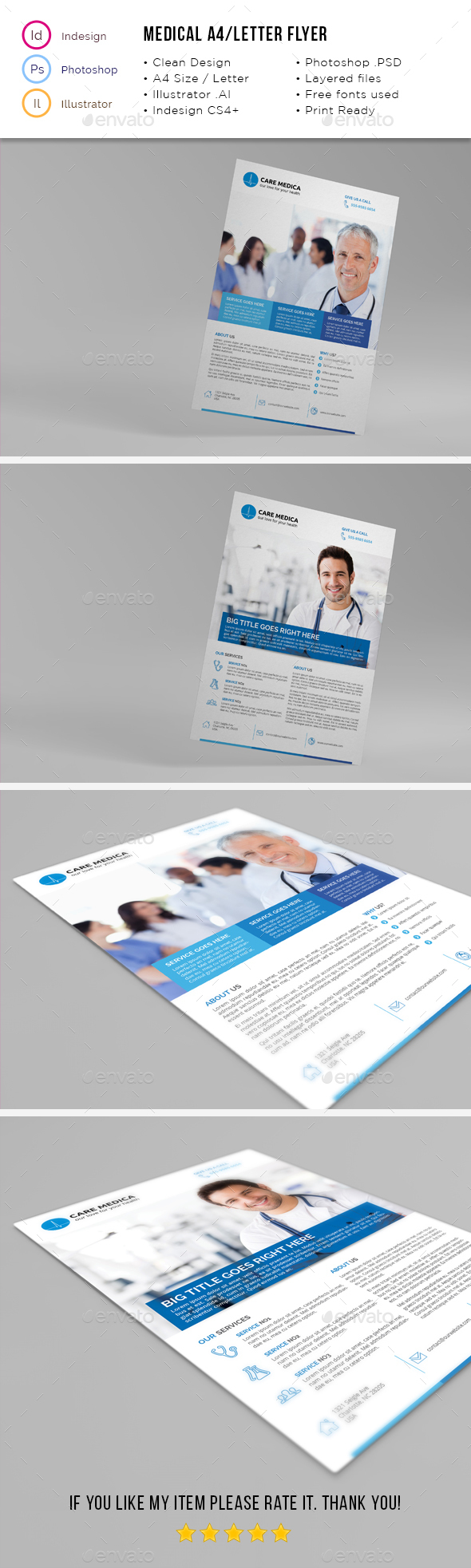Medical A4 / Letter Flyer 02 - Corporate Flyers