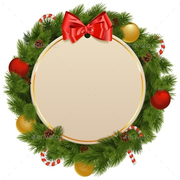 Vector Christmas Greeting Concept - Christmas Seasons/Holidays
