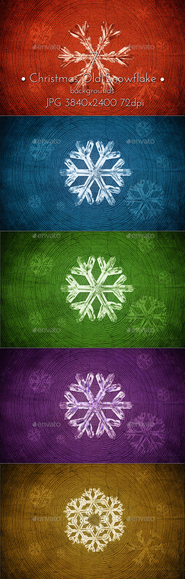 Christmas Snowflakes Old Background - Abstract Backgrounds
