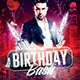 Birthday Bash | Classy Flyer Template  - GraphicRiver Item for Sale