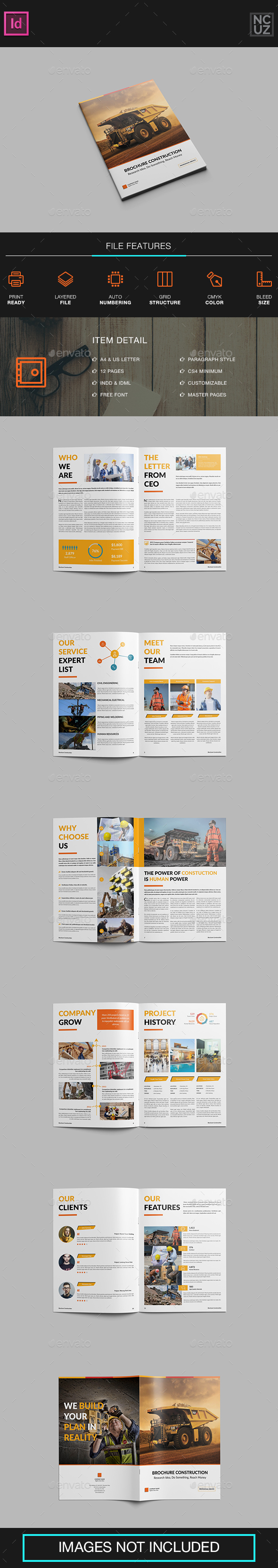Brochure Construction Company - Corporate Brochures