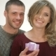 Man Presents a Gift To The Girlfriend - VideoHive Item for Sale