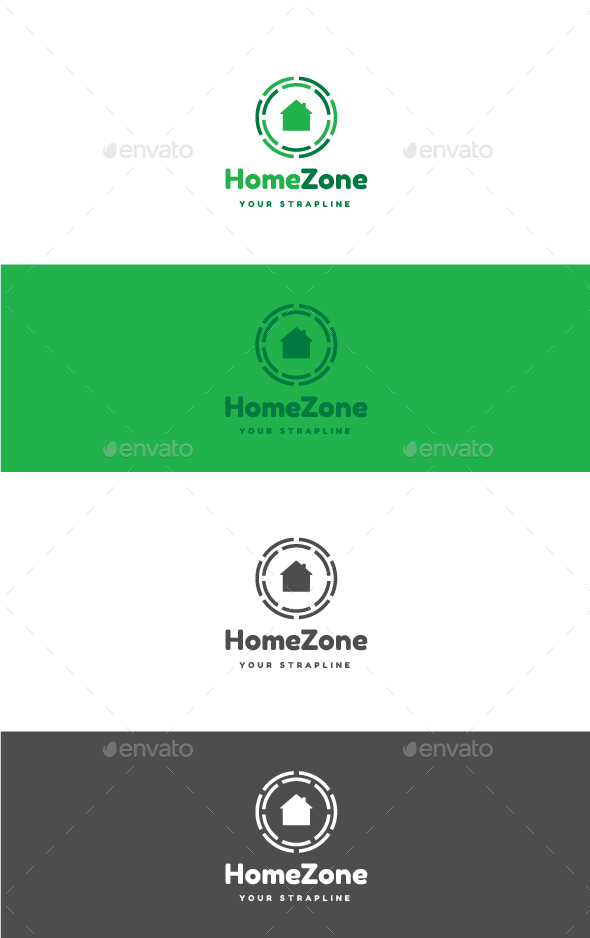 Home Zone Logo - Buildings Logo Templates