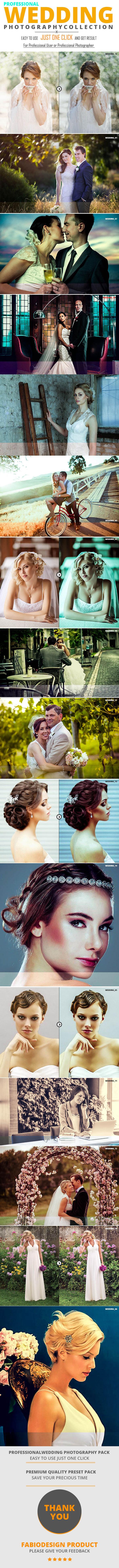 Wedding Photography Preset - Wedding Lightroom Presets