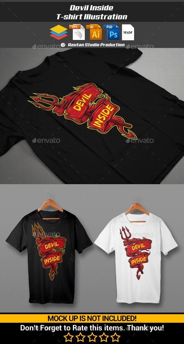 Devil Inside - Designs T-Shirts