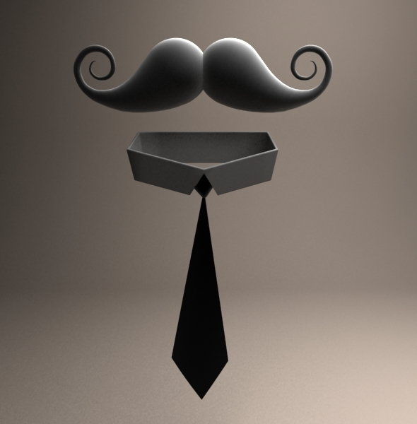 Mustache - 3DOcean Item for Sale