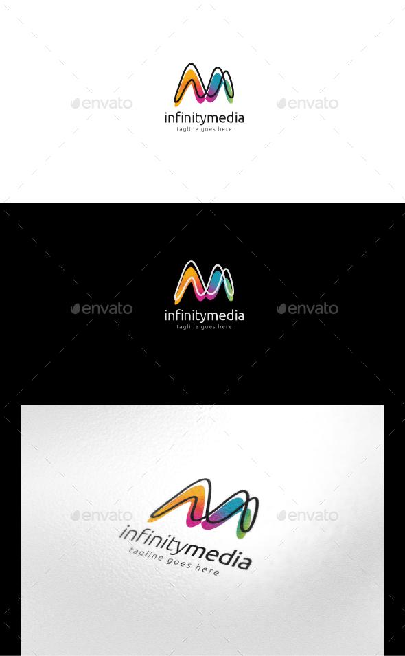 Infinity Media Logo - Letters Logo Templates
