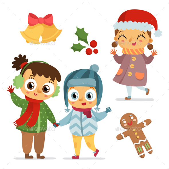 Children and Holiday Symbols - Miscellaneous Seasons/Holidays