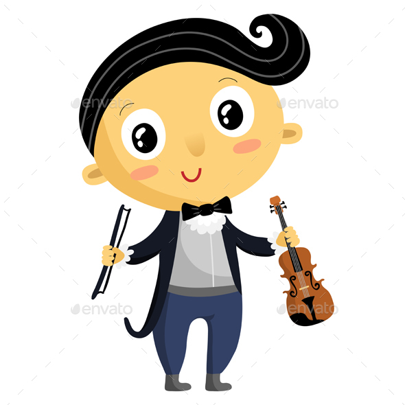 Kid Musician - People Characters