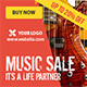 Instrument Music Sale - GraphicRiver Item for Sale