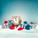 Winter Background With Presents Vector - GraphicRiver Item for Sale