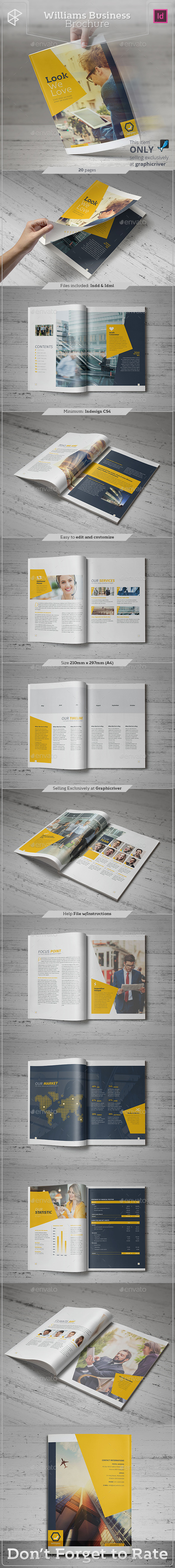 Williams Business Brochure - Corporate Brochures