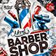Barber Shop Flyer Konnekt - GraphicRiver Item for Sale