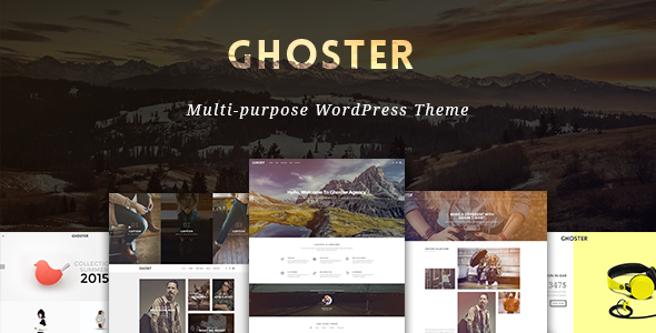 Ri Ghoster – Multipurpose Creative WordPress Theme