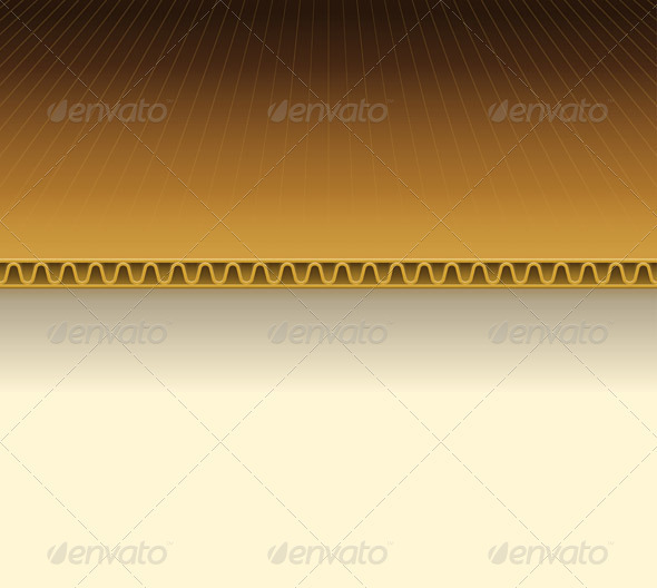 Brown Cardboard Illustration - Backgrounds Decorative