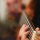 Musician Playing Bass Guitar - VideoHive Item for Sale