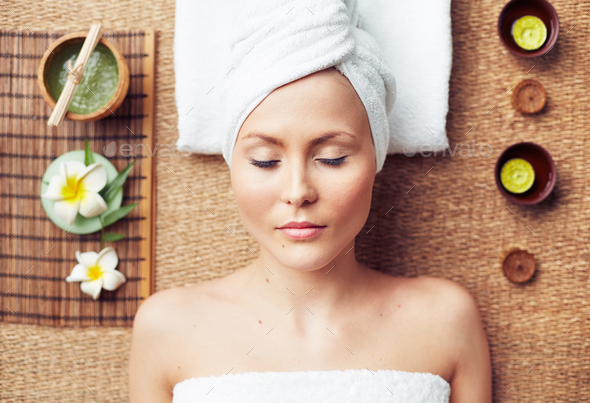 Spa procedure - Stock Photo - Images