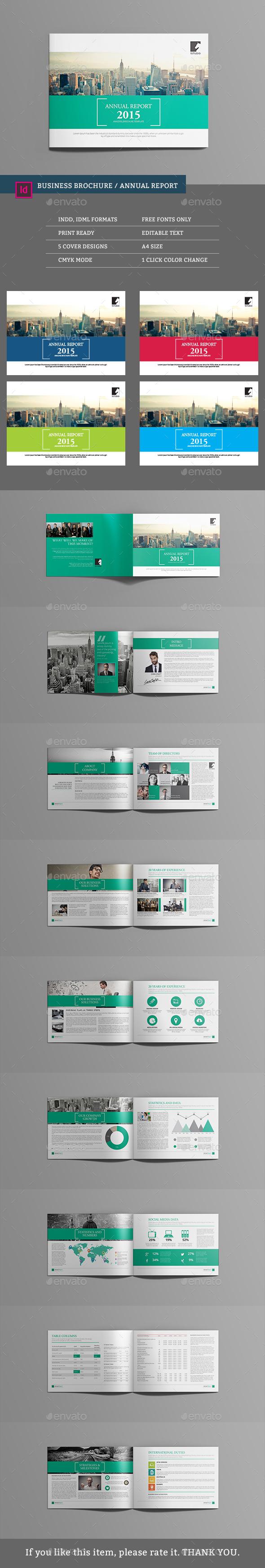 Multipurpose Brochure Template - Corporate Brochures