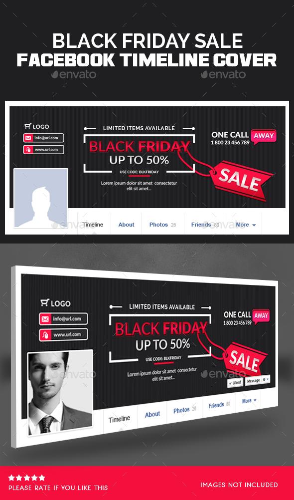 Black Friday Facebook Timeline Cover - Facebook Timeline Covers Social Media