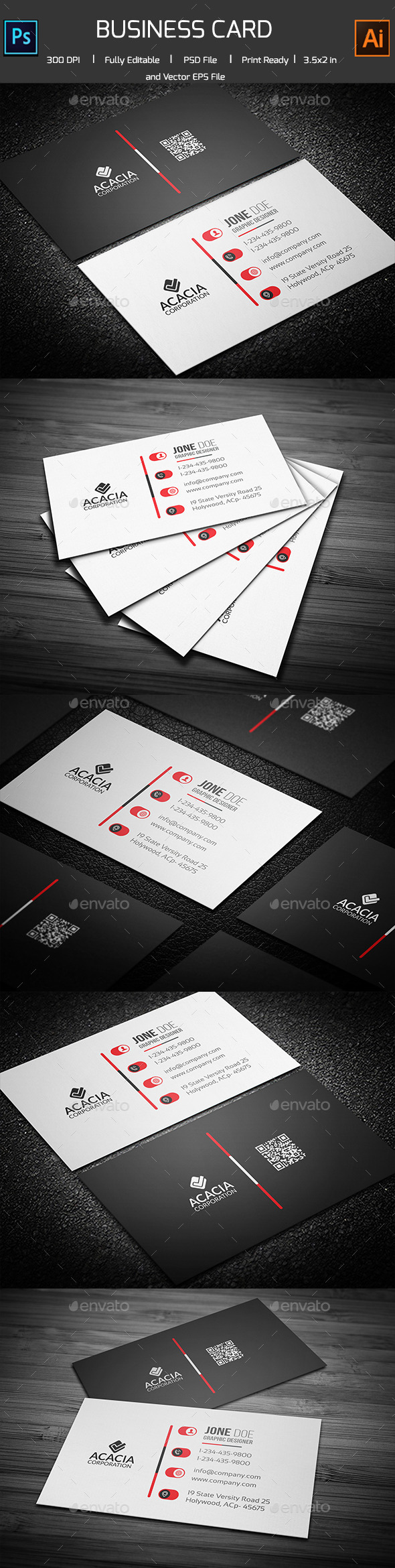 Professional Business Card - Corporate Business Cards