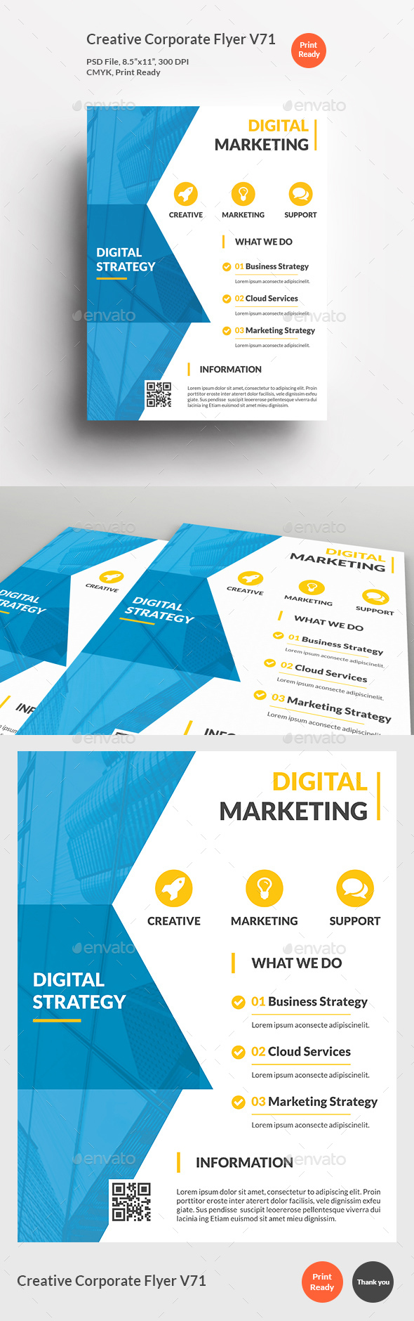 Creative Corporate Flyer V71 - Corporate Flyers